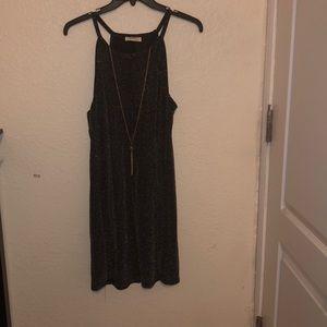 Dresses & Skirts - Black sparkly short dress